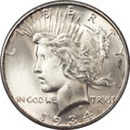 Peace Dollars, 1934-D $1 MS66+ PCGS. CAC....