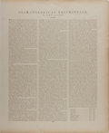Books:Maps & Atlases, [Map]. Lithographic Print Entitled, Climatological Map of the United States. O. W. Gray & Son, 1878. Measures. appro...
