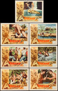 "Movie Posters:Adventure, Tarzan the Magnificent & Other Lot (Paramount, 1960).Autographed Lobby Cards (7) (11"" X 14"") & Photos (3) (8"" X10""). Adven... (Total: 10 Items)"