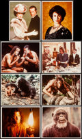 "Movie Posters:Adventure, Greystoke: The Legend of Tarzan, Lord of the Apes (WarnerBrothers). Reprint Color Photos (78) (8"" X 10"") & Reprint ArtPho... (Total: 79 Items)"