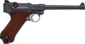 Handguns:Semiautomatic Pistol, German DWM Model P08 1916 Navy Luger Semi-Automatic Pistol....