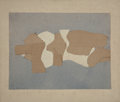 Post-War & Contemporary:Abstract Expressionism, CONRAD MARCA-RELLI (American, 1913-2000). UntitledF-5-25-67, 1967. Mixed media: fabric, burlap, pencil mounted onstret...
