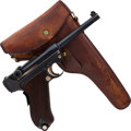 Handguns:Semiautomatic Pistol, Swiss Model 1906 Luger Semi-Automatic Pistol with Holster....