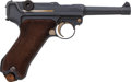 Handguns:Semiautomatic Pistol, German DWM Model 1917 Luger Semi-Automatic Pistol....