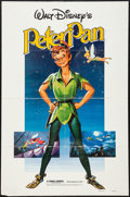"Movie Posters:Animation, Peter Pan & Others Lot (Buena Vista, R-1982). One Sheets (4)(27"" X 41""), Half Sheet (22"" X 28""), & Uncut Pressbook (11"" X1... (Total: 6 Items)"