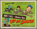 """Movie Posters:Comedy, Up in Smoke (Allied Artists, 1957). Half Sheets (2) (22"""" X 28"""") A and B Styles. Comedy.. ... (Total: 2 Items)"""
