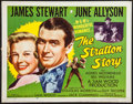 "Movie Posters:Sports, The Stratton Story (MGM, R-1956). Half Sheet (22"" X 28""). Sports.. ..."