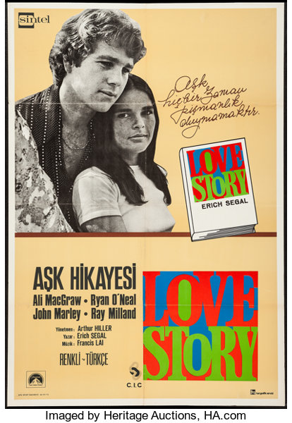 Love Story & Others Lot (Paramount, 1970). Turkish Posters (2) | Lot #51336  | Heritage Auctions
