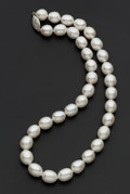 Estate Jewelry:Pearls, Baroque Pearl Necklace. ...