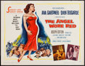 "Movie Posters:War, The Angel Wore Red (MGM, 1960). Half Sheet (22"" X 28""). War.. ..."
