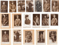 Military & Patriotic:WWI, Group of 18 Sanke Real Photo Postcards of WWI German Aviators....(Total: 18 Items)