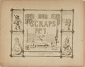 Books:Americana & American History, David Claypoole Johnston. Scraps No. 1. Johnston, 1849.Publisher's wrappers with minor toning and rubbing. Consists...