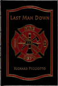 Books:Biography & Memoir, Richard Picciotto. SIGNED. Last Man Down. Easton Press, 2007. First edition, first printing. Publisher's leather. In...