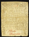 Colonial Notes:Connecticut, Connecticut March 1, 1780 2s 6d Fine.. ...