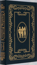 Books:Americana & American History, Joseph J. Ellis. SIGNED. Founding Brothers. Easton Press,2006. First edition, first printing. Publisher's leather. ...