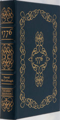 Books:Americana & American History, David McCullough. SIGNED. 1776. Easton Press, 2006. Firstedition, first printing. Publisher's leather. Includes an ...