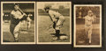 Baseball Cards:Lots, 1930's Metropolitan & Butterfinger Baseball Premiums Trio (3)With Gehrig. ...