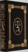 Books:Biography & Memoir, Sandra Day O'Connor. SIGNED/LIMITED. The Majesty of the Law. Easton Press, 2003. First edition, first printing. Li...