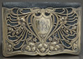 Silver Smalls:Other , A GORHAM LEATHER WALLET WITH SILVER GILT MOUNTS . GorhamManufacturing Co., Providence, Rhode Island, circa 1900. Marks:(li...