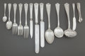 Silver & Vertu:Flatware, A SIXTY-NINE PIECE TIFFANY & CO. WINTHROP PATTERN FLATWARE SERVICE . Tiffany & Co., New York, New York, designed... (Total: 71 )