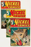Golden Age (1938-1955):Superhero, Nickel Comics #1 and 4-7 Group (Fawcett Publications, 1940) Condition: Average GD.... (Total: 5 Comic Books)