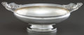 Silver Holloware, American:Bowls, A TIFFANY & CO. SILVER CENTER BOWL . Tiffany & Co., NewYork, New York, circa 1873-1891. Marks: TIFFANY & CO.,MAKERS, STE...