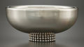 Silver Holloware, French:Holloware, A JEAN DEPRESS FRENCH SILVER-PLATED COUPE . Jean Depress, Paris,French, circa 1920. Marks: DJ DEPRESS. 2 inches high x ...