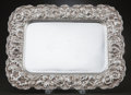 Silver Holloware, American:Trays, A STIEFF COMPANY ROSE PATTERN SILVER TRAY . The StieffCompany, Baltimore, Maryland, circa 1927. Marks: STIEFF...