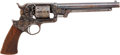 Military & Patriotic:Civil War, Fine Engraved Starr Single Action 1863 .44 Caliber Percussion Army Revolver # 51762....