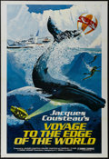 "Movie Posters:Documentary, Voyage to the Edge of the World (Pacific International Enterprises, 1977). One Sheet (27"" X 41"") Tri-folded. Documentary. Di..."