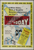 """Movie Posters:Documentary, Yesterday and Today (United Artists, 1953). One Sheet (27"""" X 41""""). Documentary. Directed by Abner J. Greshler. Narrated by G..."""