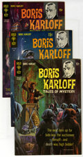 Silver Age (1956-1969):Horror, Boris Karloff Tales of Mystery File Copies Group (Gold Key,1965-69) Condition: Average NM-. Includes three copies each of #...(Total: 15 Comic Books)