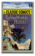 Golden Age (1938-1955):Classics Illustrated, Classic Comics #12 Rip Van Winkle and the Headless Horseman -Original Edition - Crowley Copy pedigree (Gilberton, 1943) CGC V...