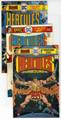 Bronze Age (1970-1979):Miscellaneous, DC Bronze Group (DC, 1972-76) Condition: Average VF. IncludesHercules Unbound #1, 2, 3, 4, 5, 6, and 7; Kamandi, the ... (Total:38 Comic Books)