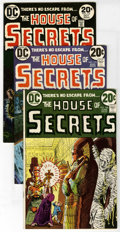 Bronze Age (1970-1979):Horror, DC Bronze Horror Group (DC, 1971-75) Condition: Average VF/NM.Includes House of Secrets #108, 110, 112 (grey-tone cover...(Total: 24 Comic Books)