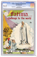 Golden Age (1938-1955):Religious, Fatima... Challenge to the World #nn (Catechetical Guild, 1951) CGCFN+ 6.5. Wraparound cover. Not listed in Overstreet. CGC...