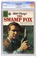 Silver Age (1956-1969):Adventure, Four Color #1179 The Swamp Fox - File Copy (Dell, 1961) CGC NM 9.4 Off-white pages. Leslie Nielson photo cover. Overstreet 2...