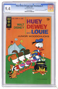 Bronze Age (1970-1979):Cartoon Character, Huey, Dewey, and Louie Junior Woodchucks #7 File Copy (GoldKey/Whitman, 1970) CGC NM 9.4 Off-white to white pages. Donald D...