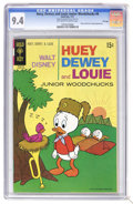 Bronze Age (1970-1979):Cartoon Character, Huey, Dewey, and Louie Junior Woodchucks #8 File Copy (GoldKey/Whitman, 1971) CGC NM 9.4 Off-white to white pages. Pluto an...