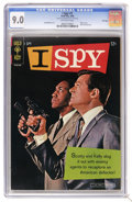 Silver Age (1956-1969):Mystery, I Spy #1 File Copy (Gold Key, 1966) CGC VF/NM 9.0 Off-white pages.Bill Cosby and Robert Culp photo cover. Al McWilliams art...