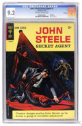 Silver Age (1956-1969):Adventure, John Steele Secret Agent #1 File Copy (Gold Key, 1964) CGC NM- 9.2 Off-white to white pages. Only issue in the title. Painte...