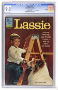 Silver Age (1956-1969):Adventure, Lassie #58 File Copy (Dell, 1962) CGC NM- 9.2 Off-white pages. Photo cover. Overstreet 2006 NM- 9.2 value = $55. CGC census ...