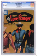 Silver Age (1956-1969):Western, The Lone Ranger #121 File Copy (Dell, 1958) CGC NM 9.4 Off-white towhite pages. Photo cover. Highest CGC grade for this iss...