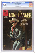 Silver Age (1956-1969):Western, The Lone Ranger #135 File Copy (Dell, 1960) CGC NM 9.4 Off-whitepages. Photo cover. Overstreet 2006 NM- 9.2 value = $150. C...