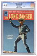 Silver Age (1956-1969):Western, The Lone Ranger #140 File Copy (Dell, 1961) CGC NM 9.4 Off-white to white pages. Photo cover. Overstreet 2006 NM- 9.2 value ...