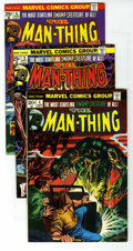 Bronze Age (1970-1979):Horror, Man-Thing Group (Marvel, 1974-75) Condition: Average NM. Includes#4, 6, 9, 12, 13, 14, 15, 18, 19 (first appearance Scaveng...(Total: 11 Comic Books)