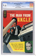 Silver Age (1956-1969):Adventure, Man from U.N.C.L.E. #5 File Copy (Gold Key, 1966) CGC NM+ 9.6 Off-white to white pages. Photo cover. Back cover photo pin-up...