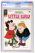 Bronze Age (1970-1979):Cartoon Character, Marge's Little Lulu #204 File Copy (Gold Key, 1972) CGC NM+ 9.6Off-white to white pages. Highest CGC grade for this issue. ...