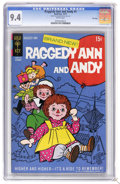 Bronze Age (1970-1979):Cartoon Character, Raggedy Ann and Andy #1 File Copy (Gold Key, 1971) CGC NM 9.4 Whitepages. Overstreet 2006 NM- 9.2 value = $38. CGC census 6...