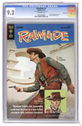 Silver Age (1956-1969):Western, Rawhide #2 File Copy (Gold Key, 1964) CGC NM- 9.2 Off-white pages. Clint Eastwood and Eric Fleming photo cover. Back cover p...